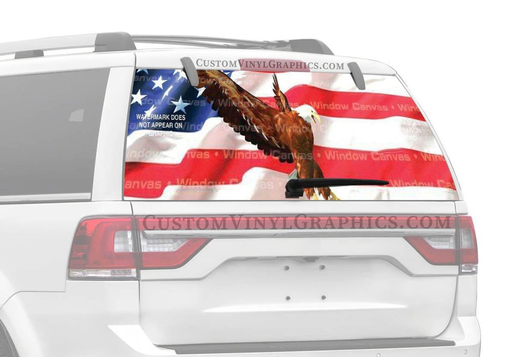 Window Canvas American Strength Rear Window Graphic