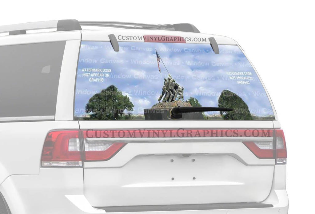 Window Canvas Uncommon Valor Rear Window Graphic