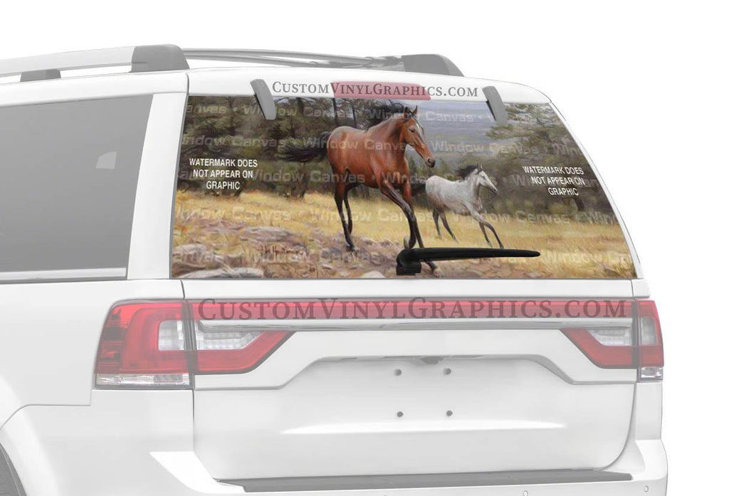 Window Canvas High Country Rear Window Graphic