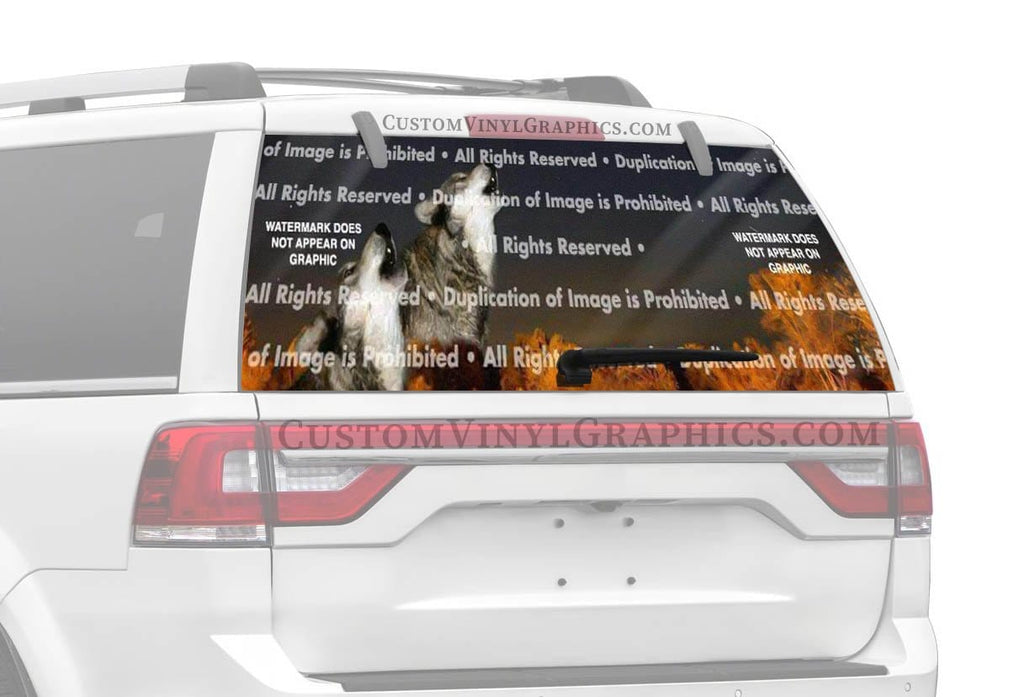 ClearVue Graphics Call Of The Wild Rear Window Graphic
