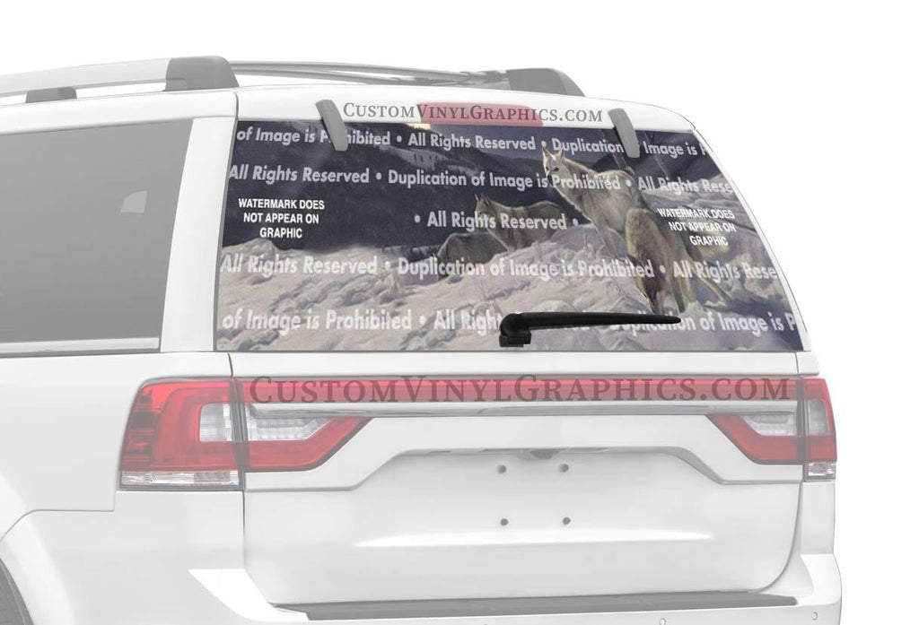 ClearVue Graphics Hunters Moon Rear Window Graphic