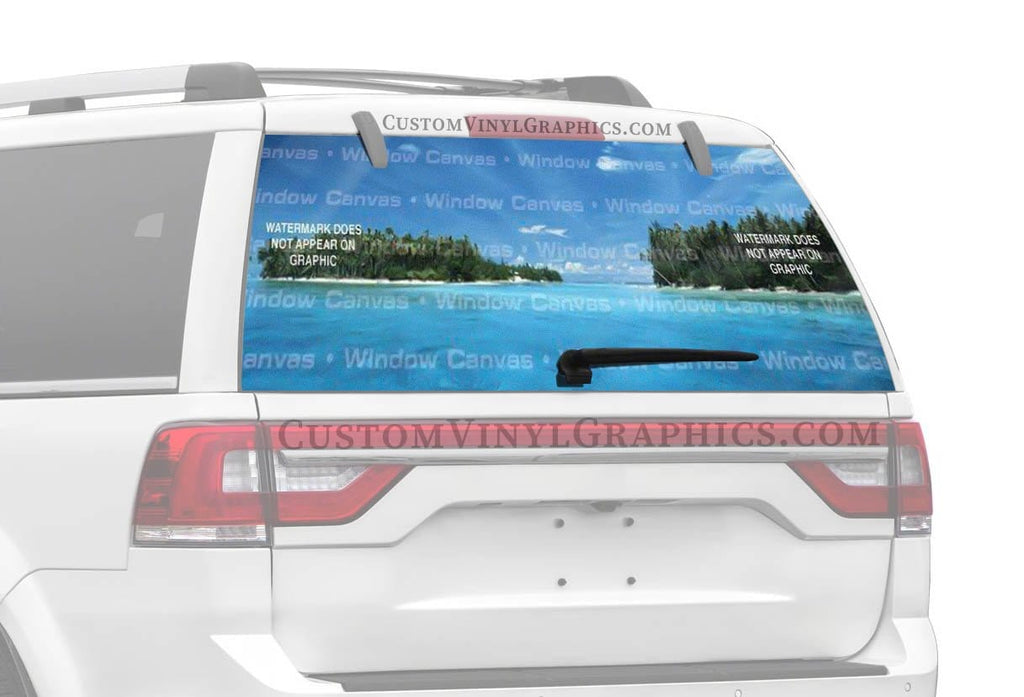 Window Canvas El Beacho Paradiso Rear Window Graphic