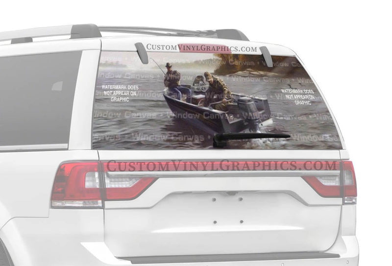 Window Canvas Fishing Buddies Rear Window Graphic