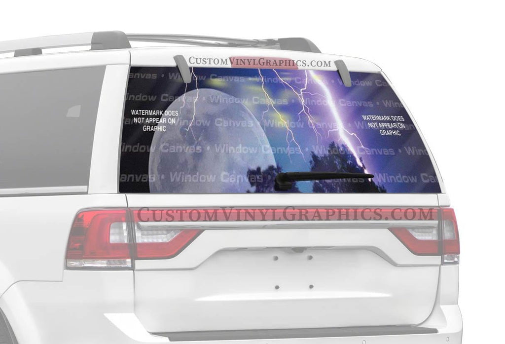 Window Canvas Natures Power Rear Window Graphic