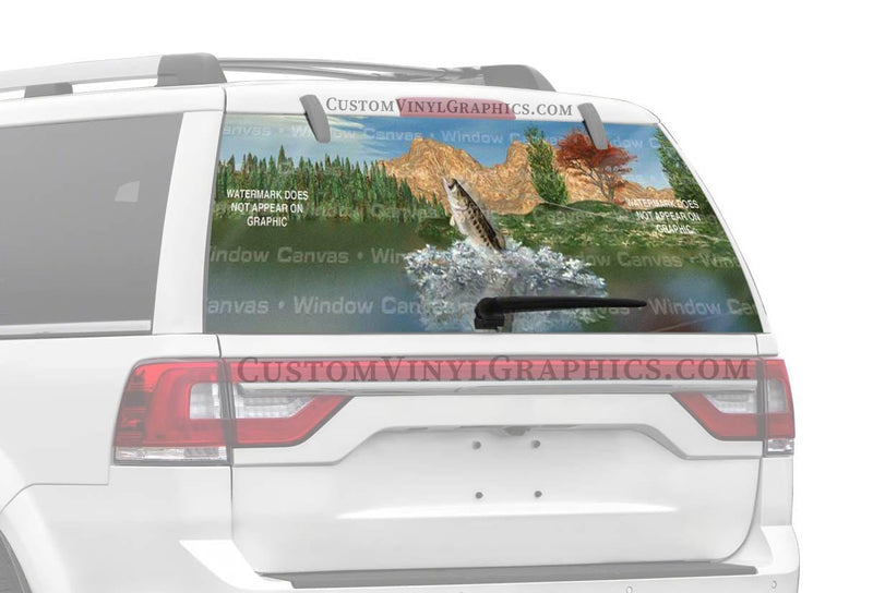 Window Canvas Fish Stories Rear Window Graphic