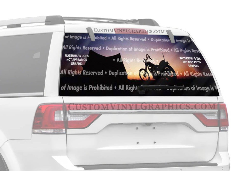 ClearVue Graphics Home On The Range Rear Window Graphic