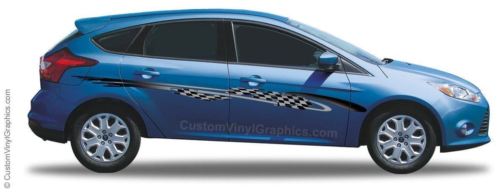 Speedway Vinyl Graphic - Custom Vinyl Graphics