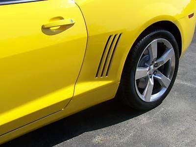 Camaro Side Vent Blackout - Custom Vinyl Graphics