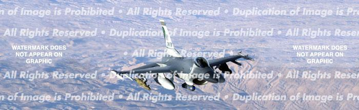 F-16 Rear Window Graphic - Custom Vinyl Graphics