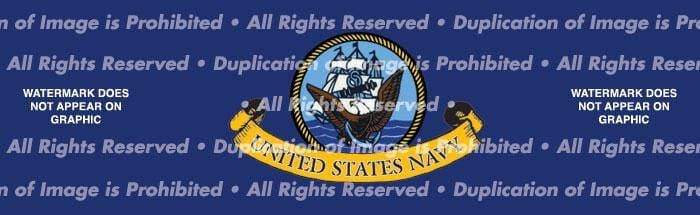 US Navy 2 Rear Window Graphic - Custom Vinyl Graphics