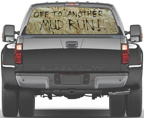 CVG Exclusive Rears Another Mud Run Rear Window Graphic