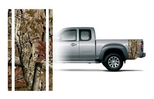 Camouflage Truck Bed Band - Custom Vinyl Graphics