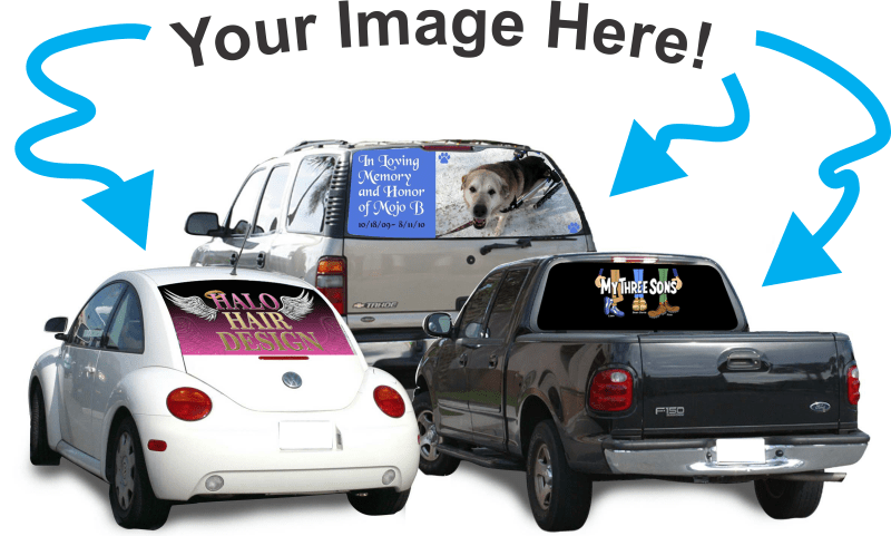 CVG Exclusives-Custom Rear Window Graphic-Custom Vinyl Graphics
