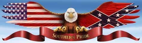 Southern Eagle Rear Window Graphic - Custom Vinyl Graphics