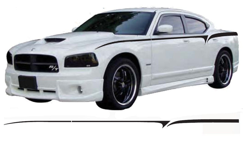 Dodge Charger Body Line Graphic - Custom Vinyl Graphics