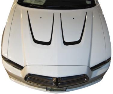 Dodge Charger Hood Outline
