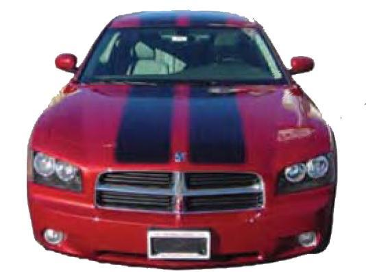 Custom Auto Designs Charger Dodge Charger Racing Stripe Package