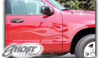 Ghost Flames 101 Vinyl Graphic - Custom Vinyl Graphics