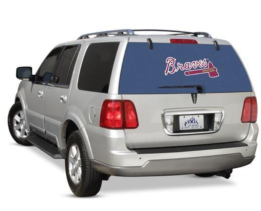 Glass Tatz Atlanta Braves Rear Window Graphic