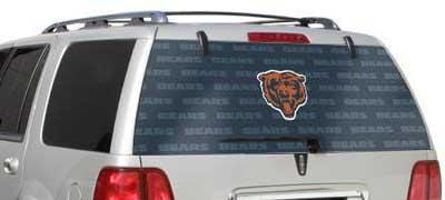 Glass Tatz Chicago Bears Rear Window Graphic