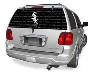 Chicago White Sox Rear Window Graphic - Custom Vinyl Graphics
