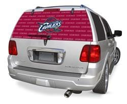 Cleveland Cavaliers Rear Window Graphic - Custom Vinyl Graphics