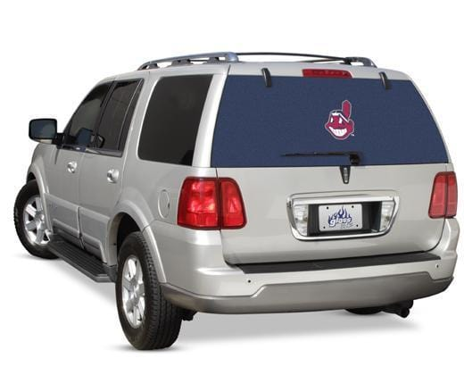Cleveland Indians Rear Window Graphic - Custom Vinyl Graphics