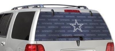 Dallas Cowboys Rear Window Graphic - Custom Vinyl Graphics