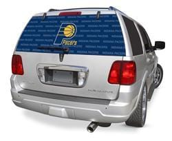 Indiana Pacers Rear Window Graphic - Custom Vinyl Graphics