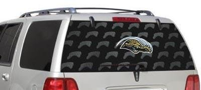 Jacksonville Jaguars Rear Window Graphic - Custom Vinyl Graphics
