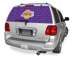 Glass Tatz Los Angeles Lakers Rear Window Graphic