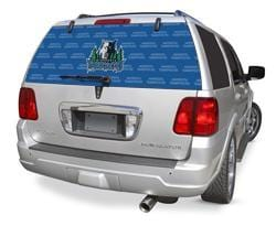 Minnesota Timberwolves Rear Window Graphic - Custom Vinyl Graphics