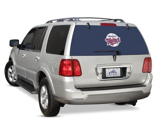 Minnesota Twins Rear Window Graphic - Custom Vinyl Graphics