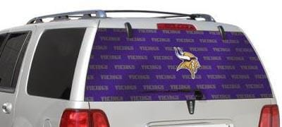 Glass Tatz Minnesota Vikings Rear Window Graphic
