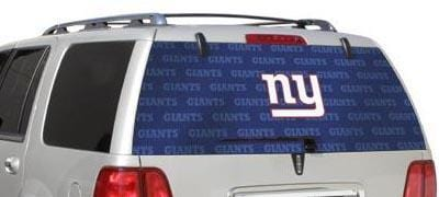 New York Giants Rear Window Graphic - Custom Vinyl Graphics