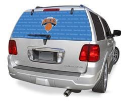 Glass Tatz New York Knicks Rear Window Graphic