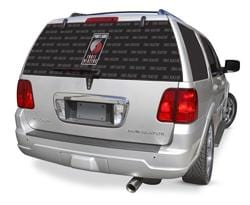 Portland Trail Blazers Rear Window Graphic - Custom Vinyl Graphics
