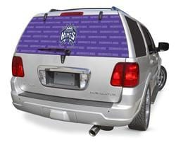 Sacramento Kings Rear Window Graphic - Custom Vinyl Graphics