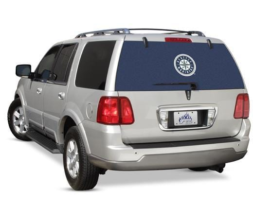 Seattle Mariners Rear Window Graphic - Custom Vinyl Graphics