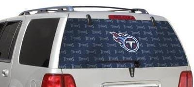 Tennessee Titans Rear Window Graphic - Custom Vinyl Graphics