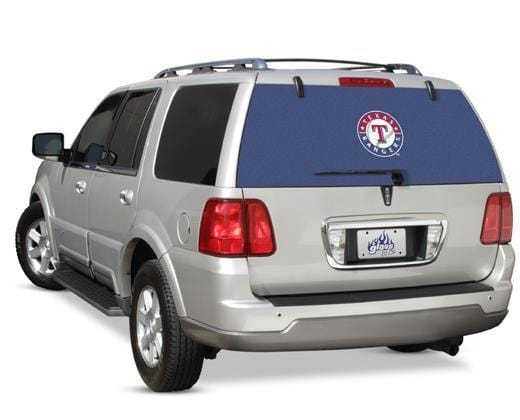 Glass Tatz Texas Rangers Rear Window Graphic