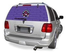 Toronto Raptors Rear Window Graphic - Custom Vinyl Graphics