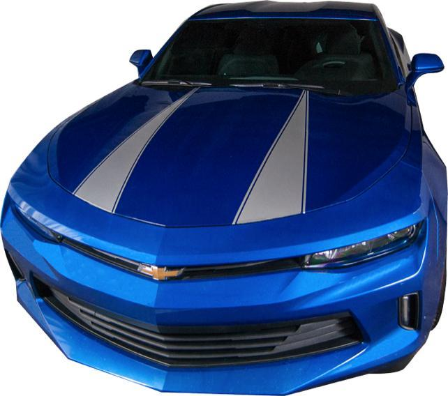 Custom Auto Designs Camaro Camaro Hood Spear with Pinline