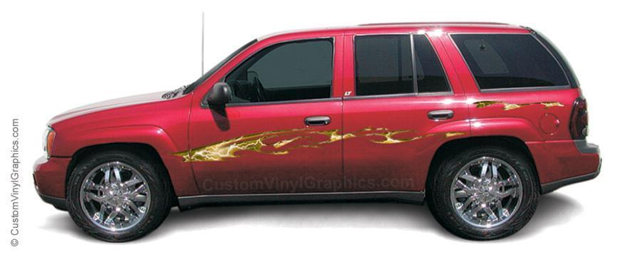 Cosmic Storm Vinyl Graphic - Custom Vinyl Graphics