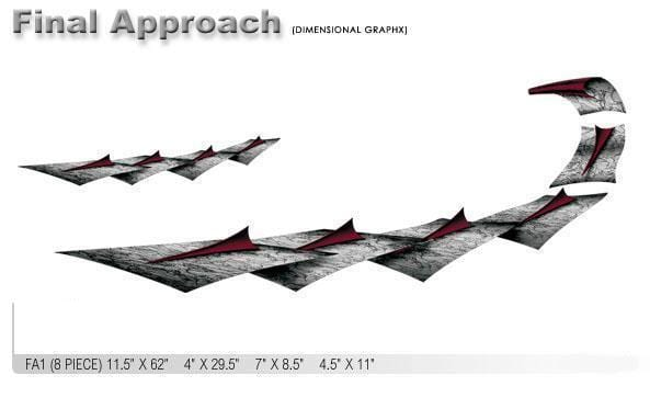 Final Approach FA1 Vinyl Graphic - Custom Vinyl Graphics