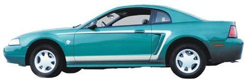 Custom Auto Designs Mustang Mustang C Stripes 1999-2004
