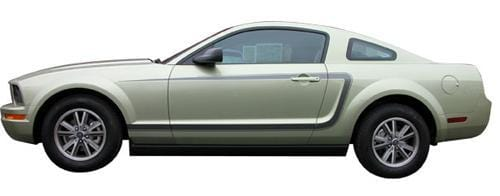 Mustang C Stripes - Custom Vinyl Graphics