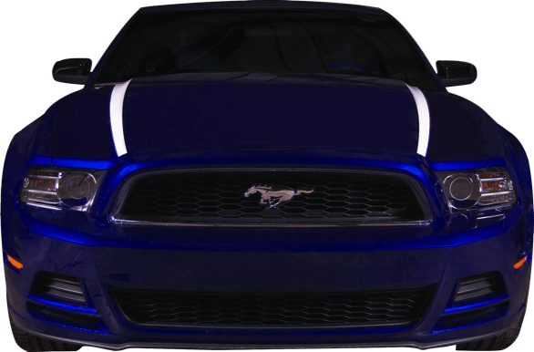 Custom Auto Designs Mustang Mustang Hood Spears (2013-2014)