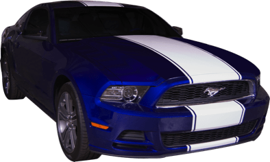 Mustang Single Stripe Kit (13-14) - Custom Vinyl Graphics