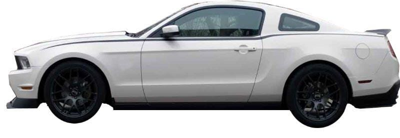 Mustang Upper Accent Stripe - Custom Vinyl Graphics